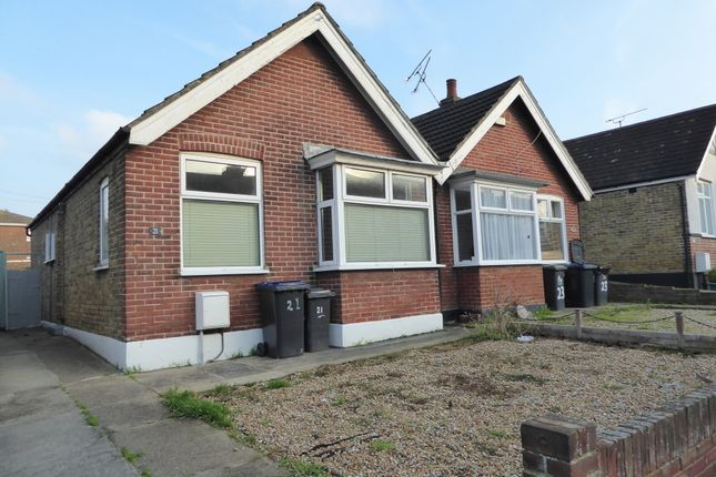 Thumbnail Semi-detached bungalow to rent in Baliol Road, Whitstable