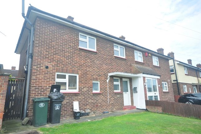 Thumbnail Semi-detached house to rent in Greenhill Road, Northfleet, Gravesend
