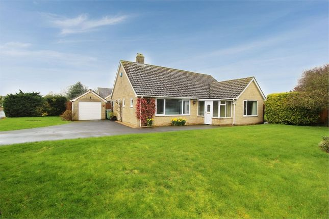 Thumbnail Detached bungalow for sale in Hampton Grove, Meysey Hampton, Cirencester, Gloucestershire