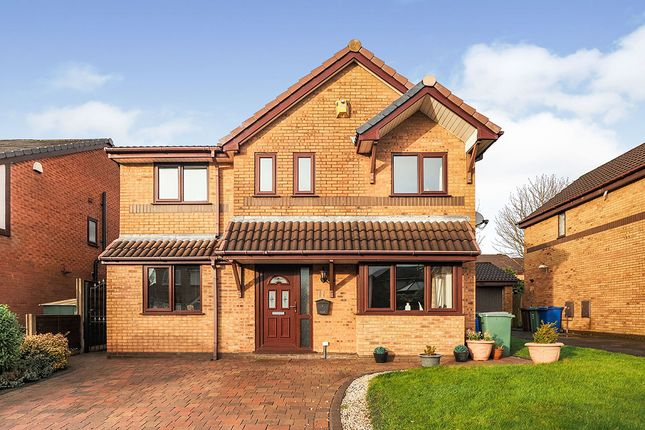 Thumbnail Detached house for sale in Burghley Drive, Radcliffe, Manchester, Greater Manchester