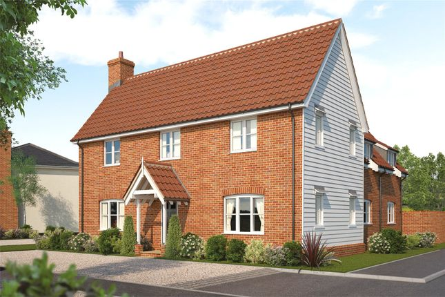 Thumbnail Detached house for sale in Plot 15 Heronsgate, Blofield, Norwich, Norfolk