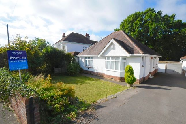 Thumbnail Detached bungalow for sale in Austin Avenue, Lilliput, Poole