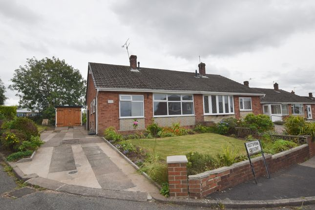 Semi-detached bungalow to rent in Westsprink Crescent, Longton, Stoke-On-Trent
