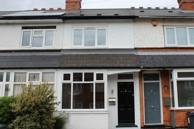 Thumbnail Terraced house for sale in Aubrey Road, Birmingham