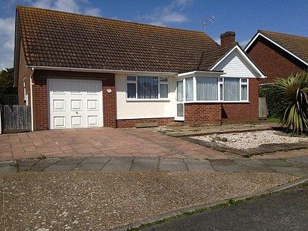 Thumbnail Detached bungalow to rent in Regents Close, Seaford
