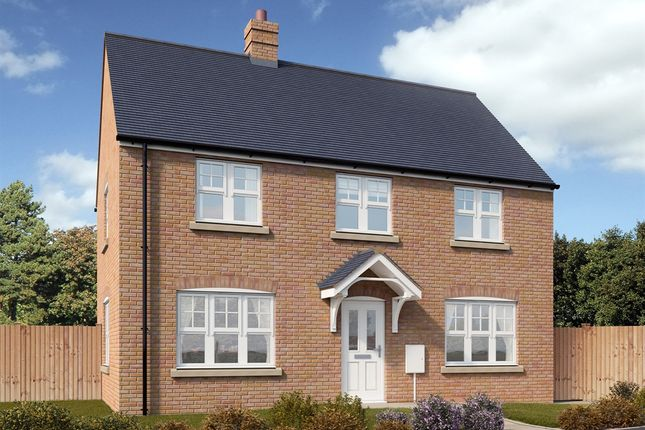 "Thumbnail Detached house for sale in ""The Clayton"" at Hewell Road, Redditch"