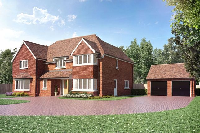 Thumbnail Detached house for sale in Bagshot Road, Chobham, Woking, Surrey