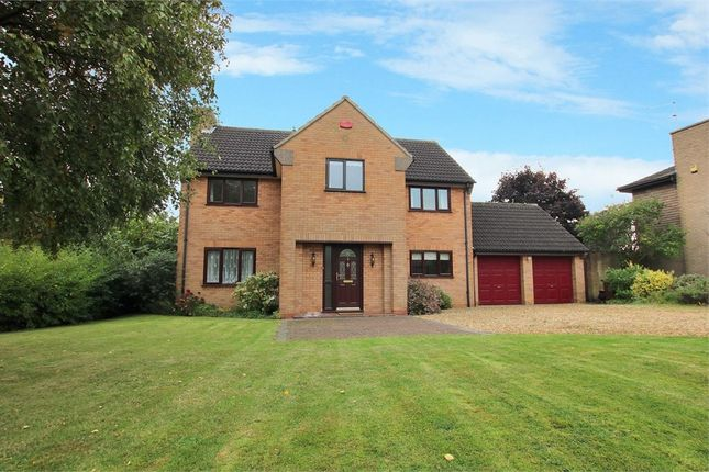Thumbnail Detached house for sale in Rowlandson Close, Weston Favell, Northampton