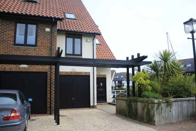 Thumbnail Terraced house for sale in Endeavour Way, Hythe, Southampton