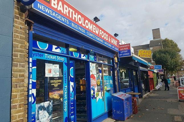 Retail premises for sale in Bartholomew Street, Lambeth