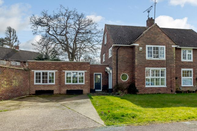 Thumbnail Semi Detached House For Sale In 1 Beehive Green, Welwyn Garden  City,