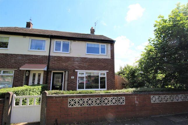 Thumbnail Semi-detached house to rent in Hautmont Road, Hebburn