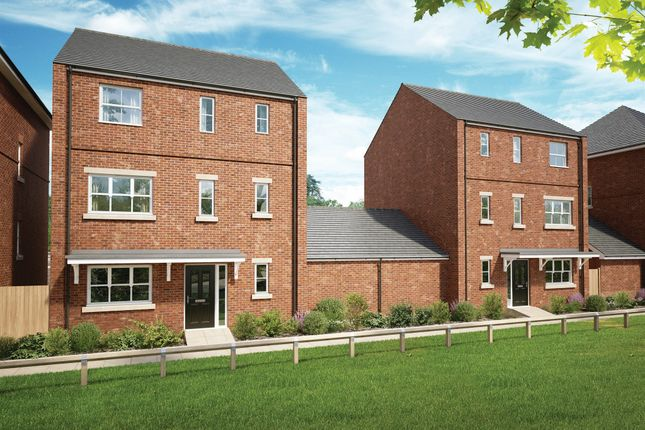 Thumbnail Town house for sale in Church Lane, Stanway, Colchester