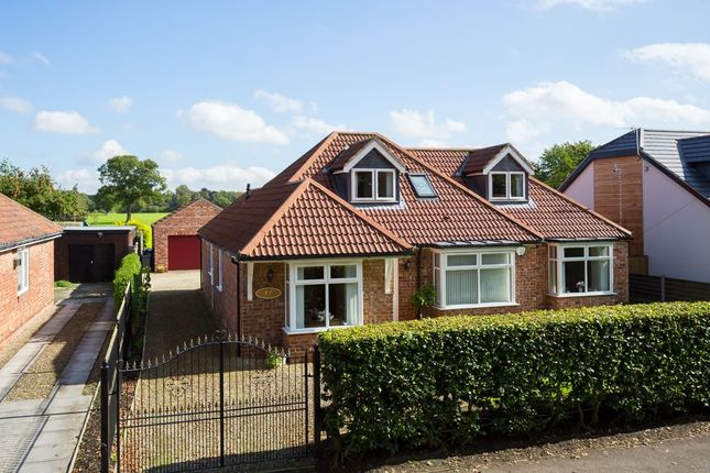 Thumbnail Bungalow for sale in Moor Lane, Strensall, York