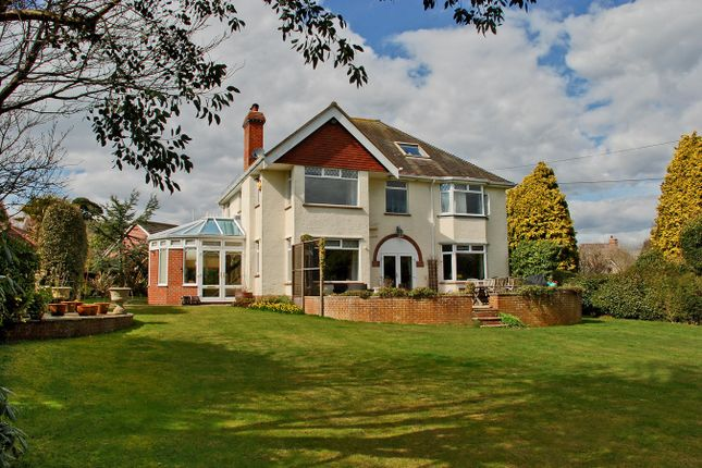 Thumbnail Detached house for sale in Dilly Lane, Barton On Sea, New Milton