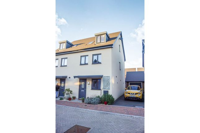 Thumbnail Semi-detached house for sale in Baruc Way, Barry