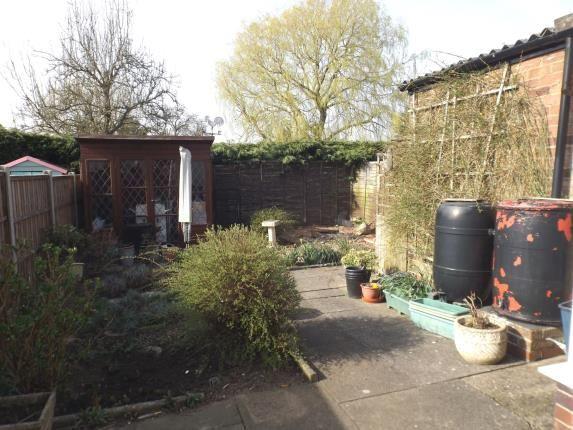 Garden of Lammas Close, Husbands Bosworth, Lutterworth, Leicestershire LE17