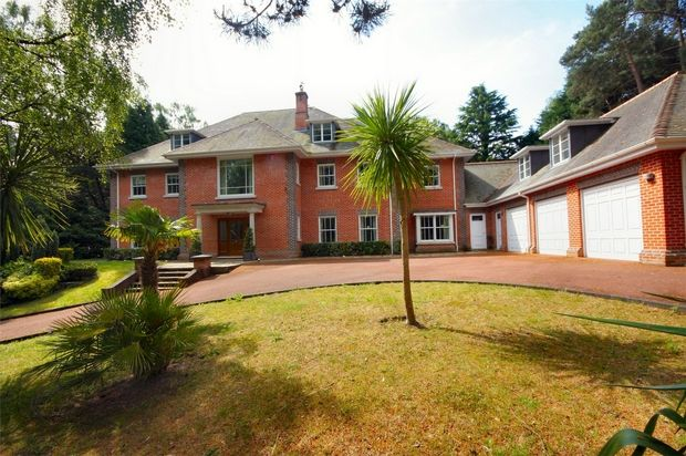 Thumbnail Detached house for sale in Western Avenue, Branksome Park, Poole, Dorset