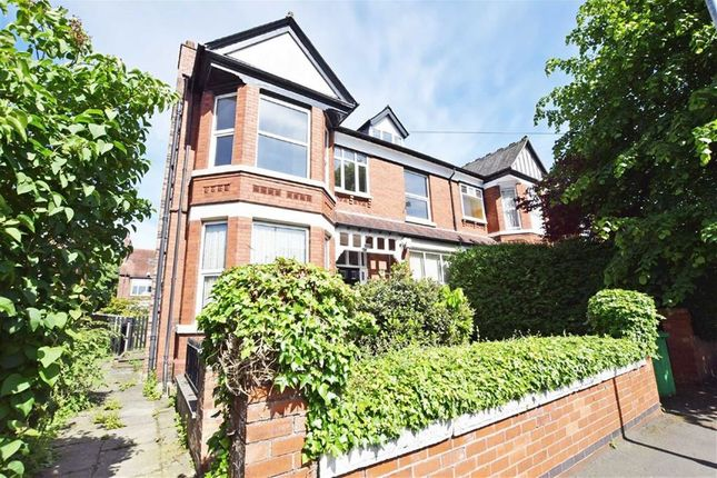 Thumbnail Semi-detached house for sale in Moorland Road, Didsbury, Manchester