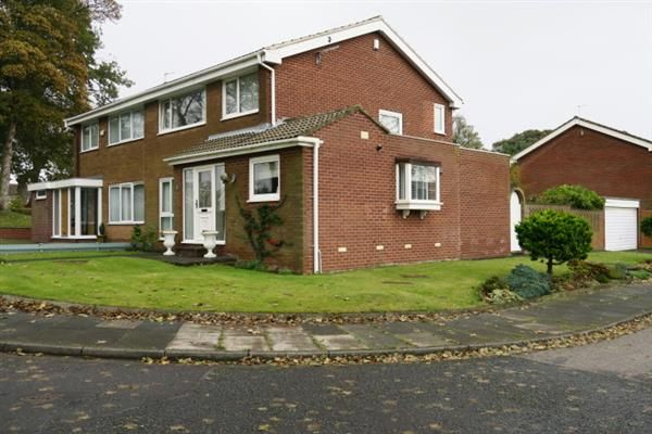 Thumbnail Semi-detached house for sale in Cleadon Meadows, Cleadon, Sunderland