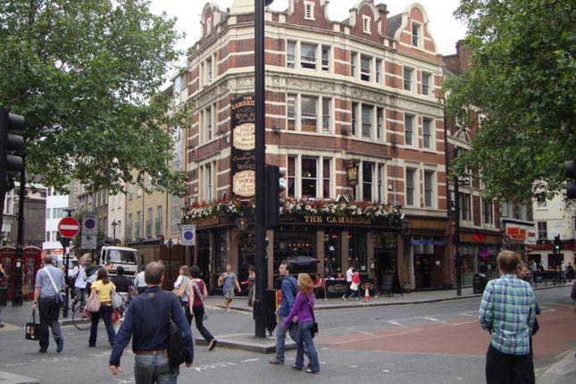 Retail premises to let in Moor Street, London