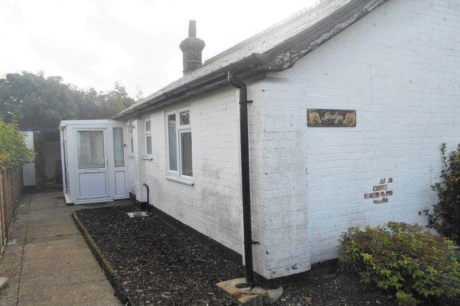 Thumbnail Detached bungalow to rent in North Street, Hundon