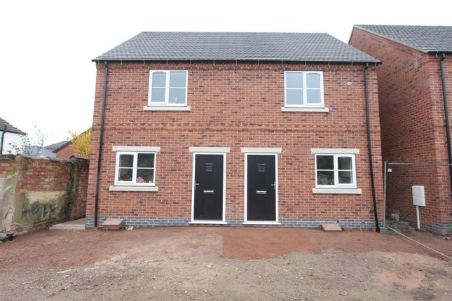Thumbnail Semi-detached house for sale in Keats Lane, Earl Shilton, Leicester