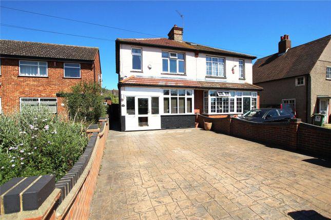 Thumbnail Semi-detached house for sale in Blackfen Road, Blackfen, Kent