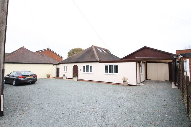 Thumbnail Detached bungalow for sale in Tamworth Road, Wood End, Atherstone