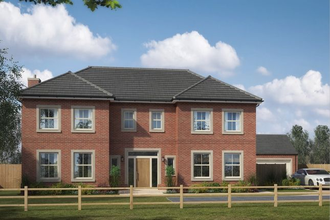 Thumbnail Detached house for sale in The Avenue, Medburn, Ponteland