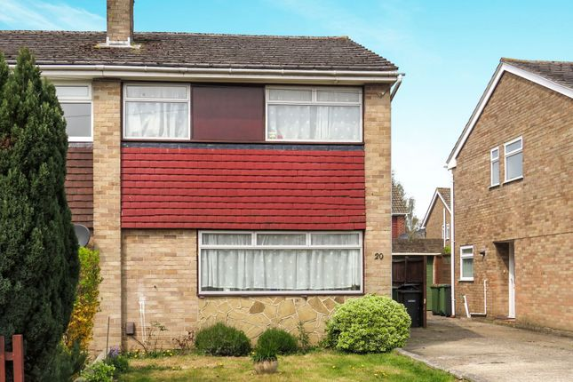 Thumbnail Semi-detached house for sale in Cumberland Avenue, Chandlers Ford, Eastleigh