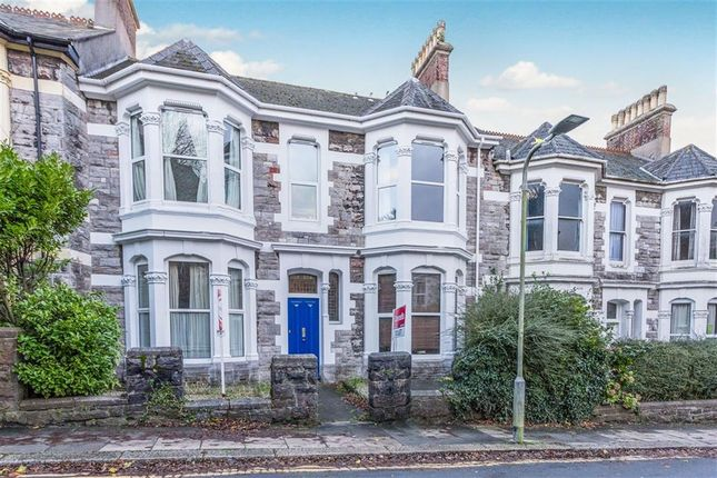 Thumbnail Flat for sale in St Lawrence Road, North Hill, Plymouth