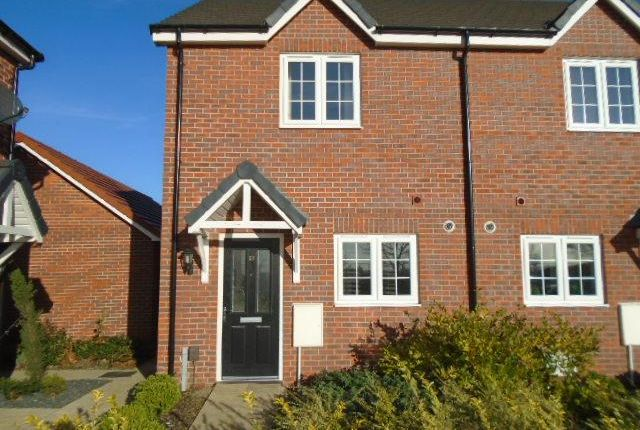 Thumbnail Semi-detached house to rent in Evans Croft, Shortstown, Bedford