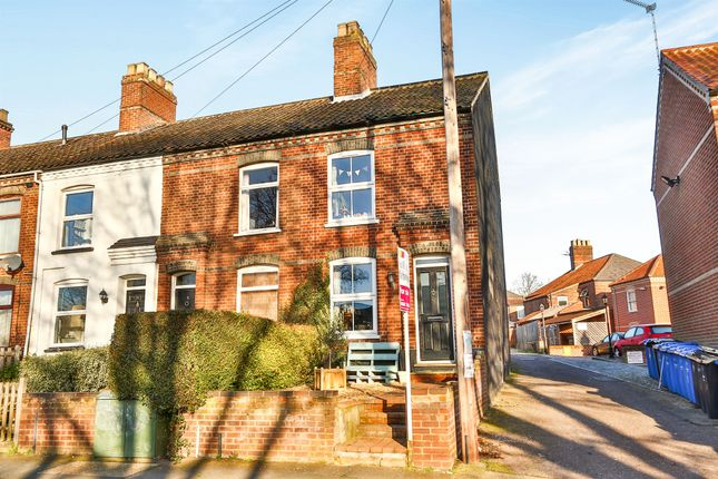 Thumbnail End terrace house for sale in Bakers Road, Norwich