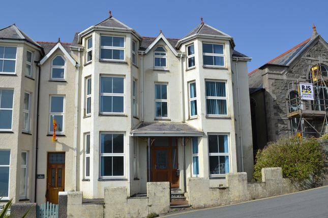 Thumbnail Semi-detached house for sale in Marine Crescent, Criccieth