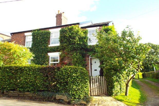 Thumbnail Property to rent in Alderley Road, Mottram St. Andrew, Macclesfield