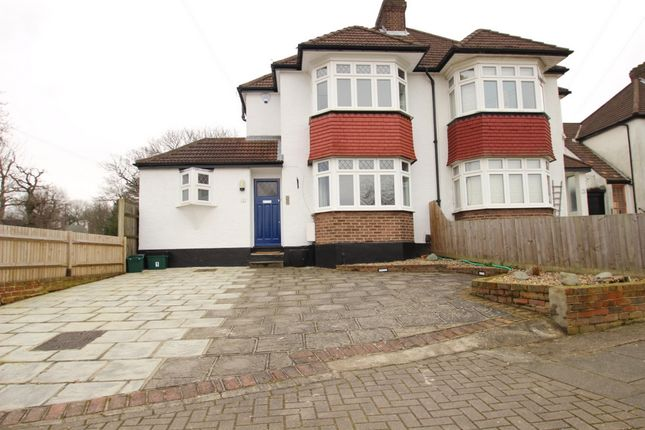 Thumbnail Semi-detached house to rent in Spring Gardens, Orpington