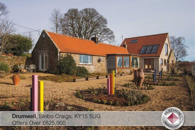 Thumbnail Detached house for sale in Drumwell, Blebo Craigs