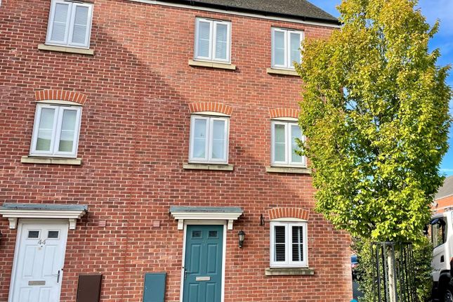 Thumbnail Town house to rent in Typhoon Way, Coopers Edge, Brockworth