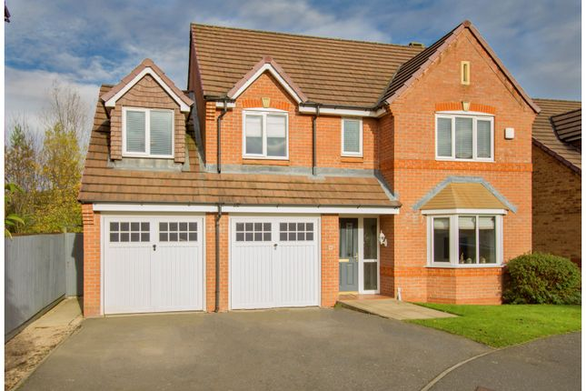 Thumbnail Detached house for sale in Chandlers Croft, Ibstock