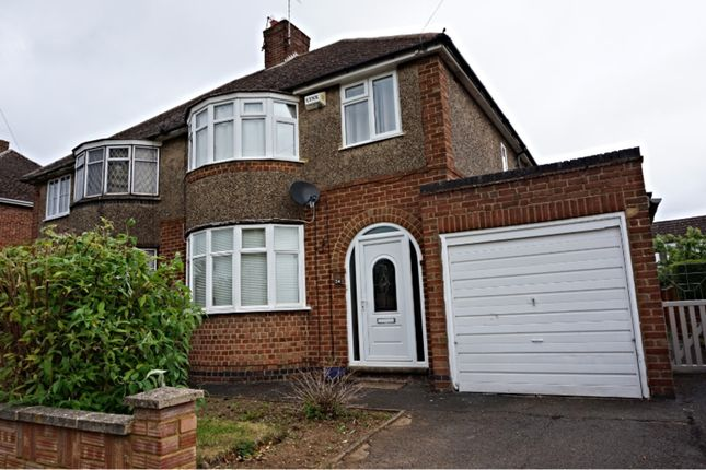 Thumbnail Semi-detached house to rent in Lea Way, Wellingborough