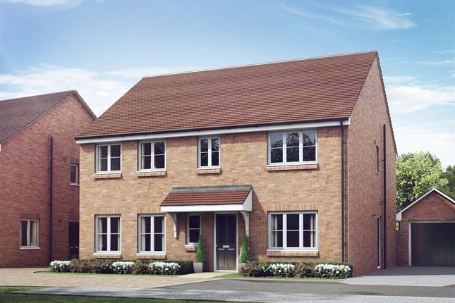 "Thumbnail Detached house for sale in ""The Holborn"" at The Gallops, High Street, East Ilsley, Newbury"