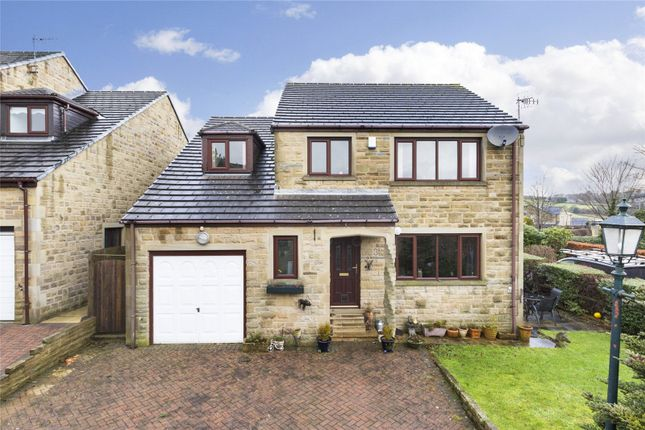 Thumbnail Detached house for sale in The Hayfields, Haworth, West Yorkshire