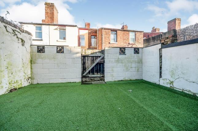Rear Yard of Dove Road, Liverpool, Merseyside L9