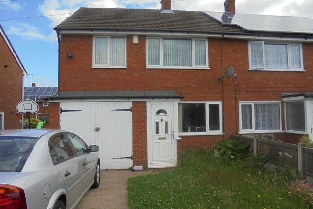 Thumbnail Semi-detached house for sale in Copperfield Drive, Muxton, Telford