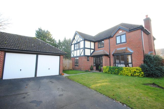 Thumbnail Detached house for sale in Roberts Close, Bishops Cleeve, Cheltenham