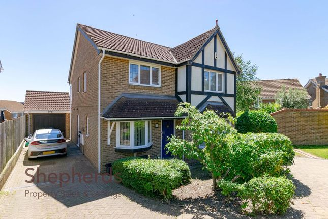 Thumbnail Detached house for sale in Old Grove Close, West Cheshunt, Hertfordshire