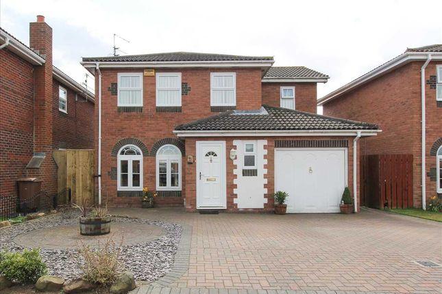 Thumbnail Detached house for sale in Woburn Close, Northburn Park, Cramlington