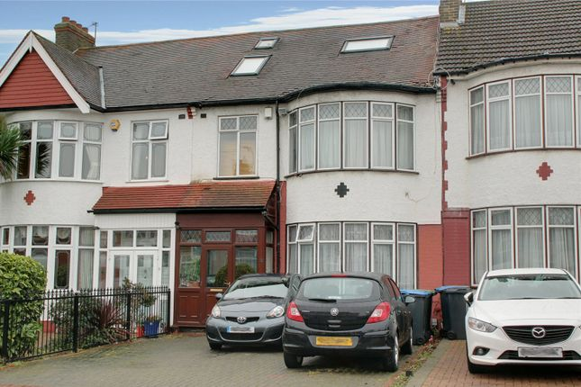 Thumbnail Terraced house for sale in Bush Hill Road, London