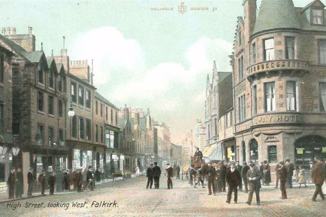 Thumbnail Flat for sale in Howgate Shopping Centre, High Street, Falkirk